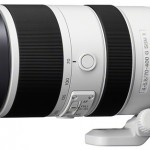 Sony Announced 70-400mm f/4-5.6 G SSM II, DT 18-55mm f/3.5-5.6 SAM II and Carl Zeiss Planar T* 50mm f/1.4 ZA SSM lenses