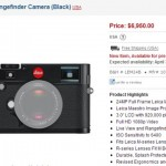 Leica M Will Not Be in Stock until April 30, 2013