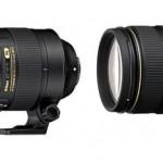 Nikkor 80-400mm f/4.5-5.6G AF-S vs 80-400mm f/4.5-5.6D AF Specifications Comparison