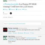 Pentax Confirmed Pentax Full Frame K-3 DSLR Camera, But Not Today