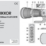 Nikon 800mm f/5.6 Lens User's Manual Available Online