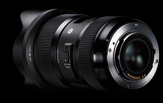 Sigma 18-35mm F1.8 DC HSM lens images
