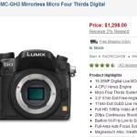 Panasonic GH3 Mirrorless MFT Camera In Stock Again