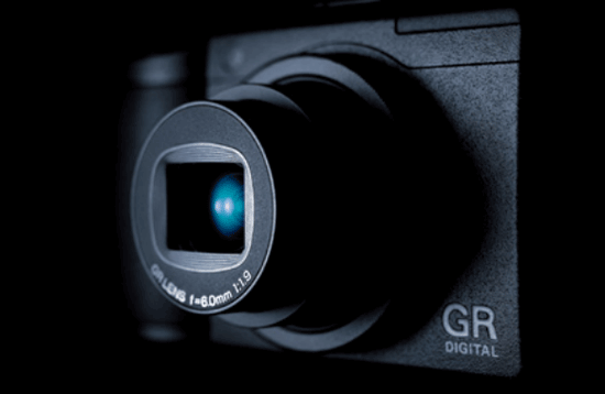 ricoh gr compact camera