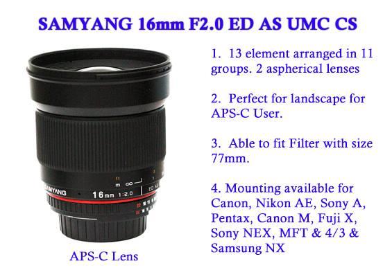 Samyang-16mm-F2.0-ED-AS-USM-CS-lens