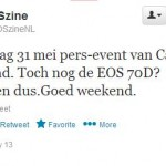 Canon Netherlands Press Event on May 31, 2013. Time for EOS 70D?