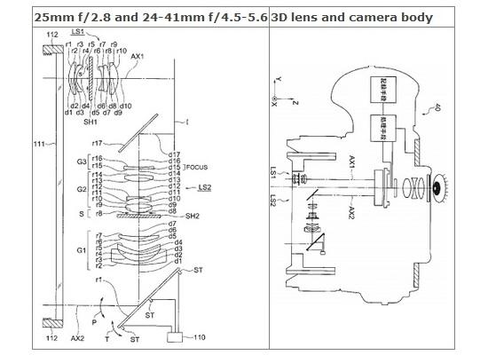 olympus-3d-lens-patent