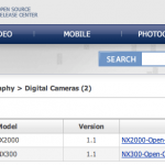 Samsung Releases the Source Code for NX300 and NX2000 Cameras