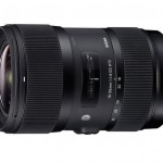 Sigma 18-35mm F1.8 DC HSM Lens Pricing and Availability Announced