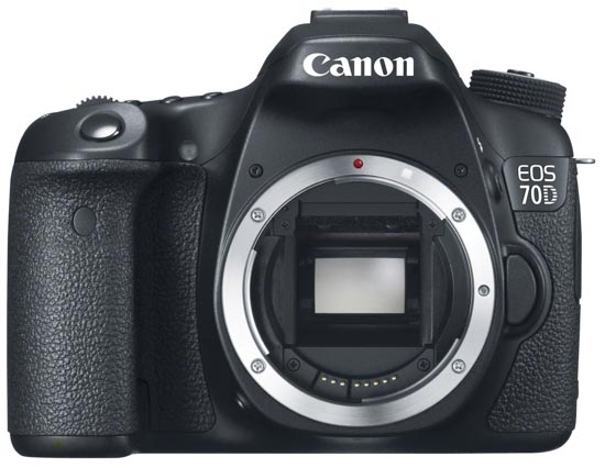 Canon EOS 70D DSLR-Camera_front