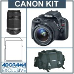 Deal : Canon EOS Rebel SL1 Bundle Sale at Adorama for $744