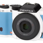 Pentax K-01 Camera Now Available in Blue and White Colors