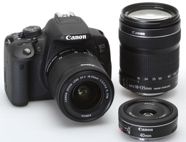 canon eos 700d lenses