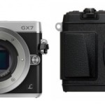 Panasonic GX7 vs Olympus E-P5 Specs Comparison Table