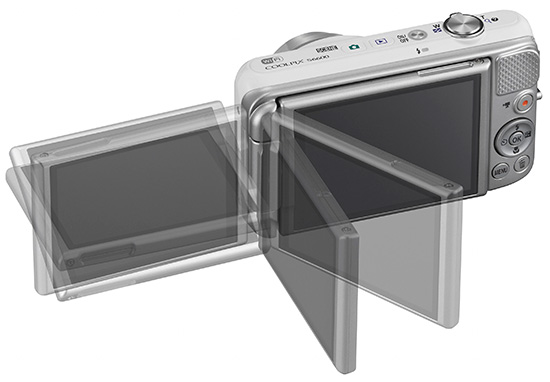 nikon coolpix s6600 digitalkamera 16 0 mp wei silber drehbares display ebay. Black Bedroom Furniture Sets. Home Design Ideas
