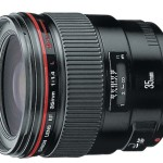 Canon Filed a Patent for EF 35mm f/1.4L II Lens