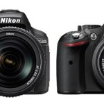 Nikon D5300 vs Nikon D5200 Specs Comparison Table