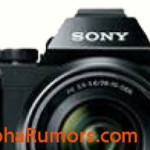 Sony A7 Full Frame Mirrorless E-Mount Camera Leaked Image