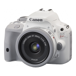Canon Announced White EOS Kiss X7 / Rebel SL1