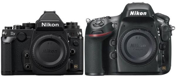 Nikon-Df-vs-Nikon-D800