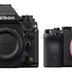 Nikon Df vs. Sony A7 / A7r Specs Comparison Table
