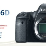 Deal : Canon EOS 6D DSLR Camera Body for $1,599.99