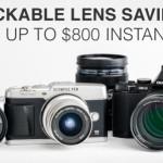 Deal : Save $800 on Olympus MFT lenses