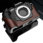 Olympus OM-D E-M1 Genuine Leather Camera Half Cases