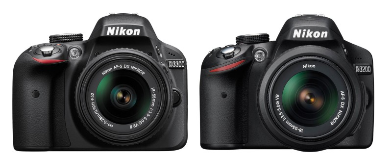 Nikon-D3300-vs-D3200