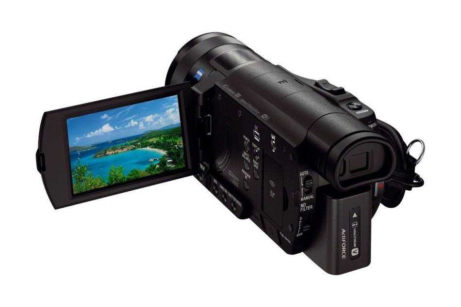 sony fdr ax100 4k camcorder announced daily camera news. Black Bedroom Furniture Sets. Home Design Ideas