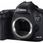 Deal : Canon EOS 5D Mark III DSLR Camera Body for $2,549