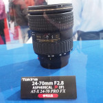 Tokina AT-X PRO 24-70mm f/2.8 SD (IF) FX Lens Displayed at CP+ 2014