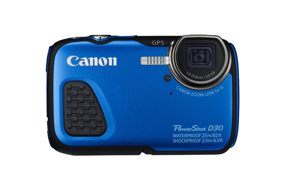 canon powershot d30 waterproof digital camera announced. Black Bedroom Furniture Sets. Home Design Ideas