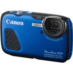 Canon PowerShot D30 Waterproof Digital Camera Announced