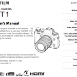 Fujifilm X-T1 User's Manual Available Online