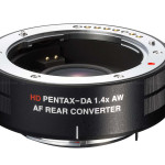 Ricoh Announced HD Pentax DA AF 1.4X AW Rear Converter