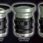 Kowa Announces 8.5mm f/2.8, 12mm f/1.8, 25mm f/1.8 MFT Lenses