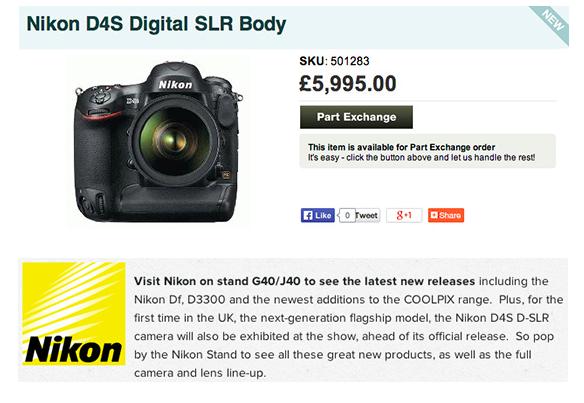 nikon-d4s-announcement-price
