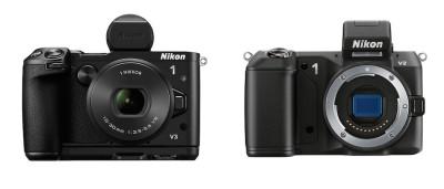 Nikon-1-v3-vs-Nikon-1-v2