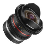 Samyang 8mm T3.1 V-DSLR UMC Fish-eye II Lens Announced