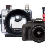 Canon EOS Rebel SL1 / 100D Underwater Housing