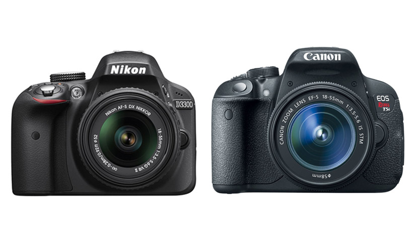 Nikon D3300 vs Canon 700D / T5i Specs Comparison Table
