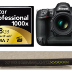 Nikon D4S and Lexar 400x or 1000x Memory Cards Issue