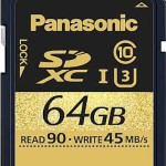Panasonic Gold Series SDUC Card for 4K Video Recording