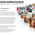 Nikon USA Adds Four New Brand Ambassadors