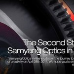 Samyang to Announce New Lenses on April 28th