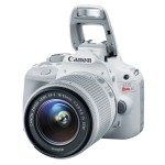Canon USA Announced the White Version of EOS Rebel SL1