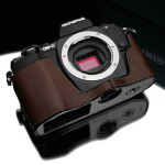 Olympus OM-D E-M10 Genuine Leather Camera Half Cases
