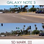 Samsung Galaxy Note 3 vs Canon 5D Mark III Video Test