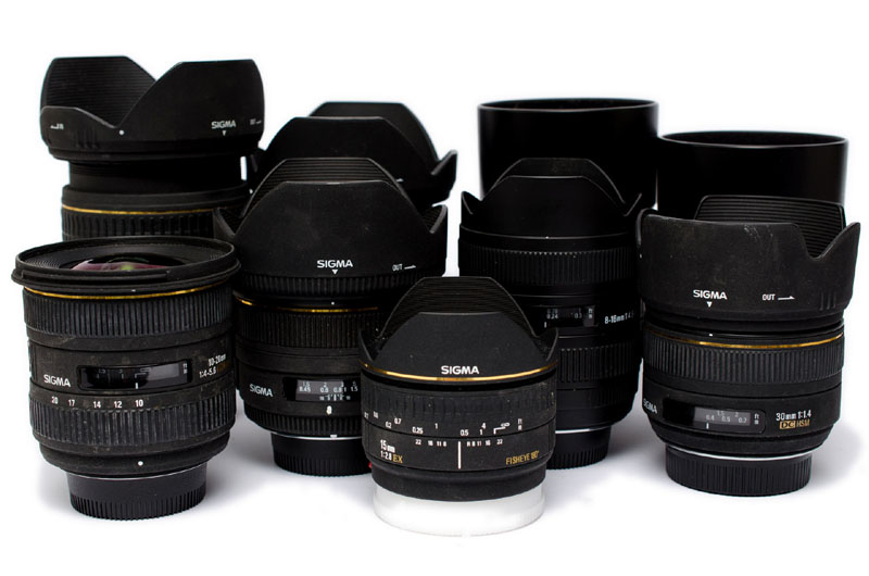 sigma lenses for x-mount